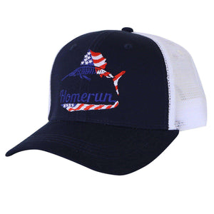 American Sailfish Trucker Hat