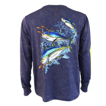 50 UV WILD TUNA PERFORMANCE FISHING SHIRT
