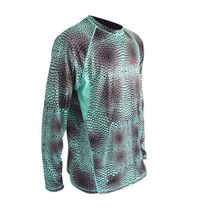 50 UV Predator Mahi Performance Fishing Shirt