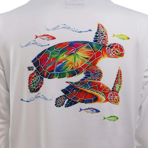 50 UV Sea Turtle Performance Fishing Shirt