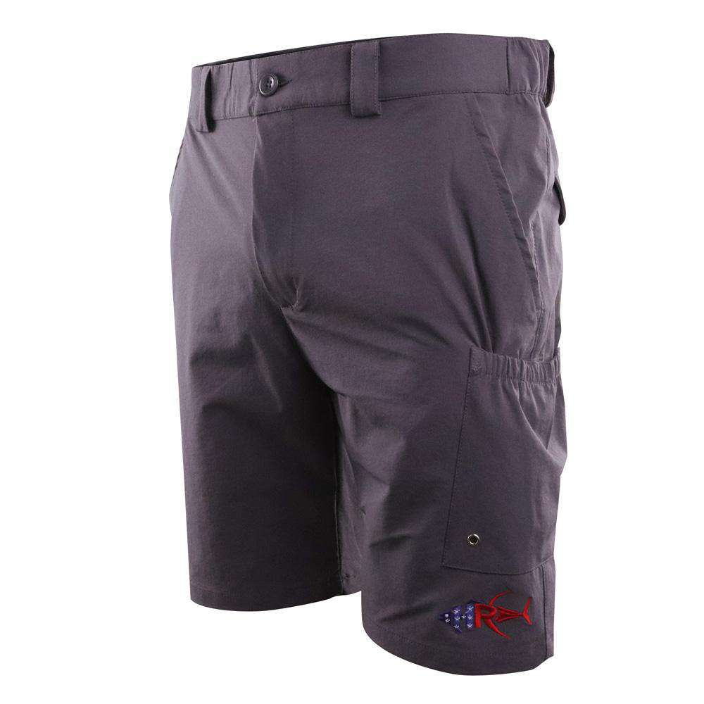 "Tuna Town Hybrid 8"" Beverage Pocket Shorts"