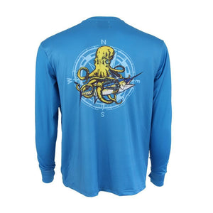 50 UV Kraken Performance Fishing Shirt