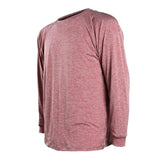 Long Sleeve Spaced Dyed Bamboo Shirt