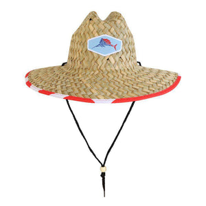 Home Run Lifeguard Straw Fishing Hat