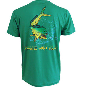 50 UV Mahi SS Fishing Shirt