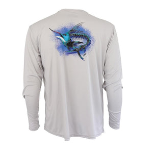 50 UV Marlin Performance Fishing Shirt