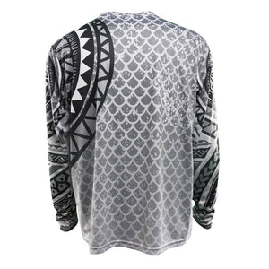 Polynesian Performance Shirt Black & White