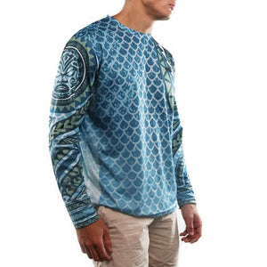 Polynesian Blue Performance Shirt