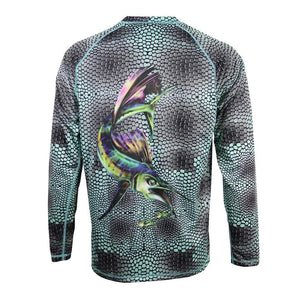 50 UV Predator Sailfish Performance Fishing Shirt