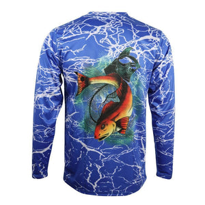 50 UV Reel Big Redfish Performance Fishing Shirt