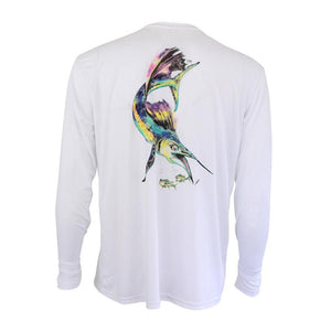 50 UV Sailfish Pro Performance Fishing Shirt
