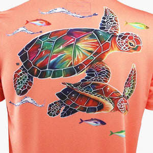 Sea Turtle Short Sleeve Performance Shirt
