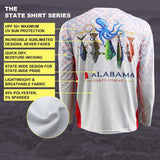 Alabama Pride Performance Fishing Shirt