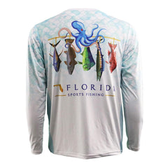 Florida Pride Performance Fishing Shirt