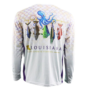 Louisiana Pride Performance Fishing Shirt