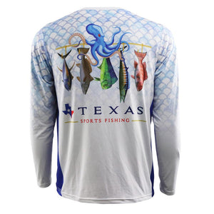 Texas Pride Performance Fishing Shirt
