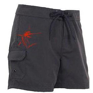 Black Cargo Shoreline Shorts For Women - Apparel by Home Run