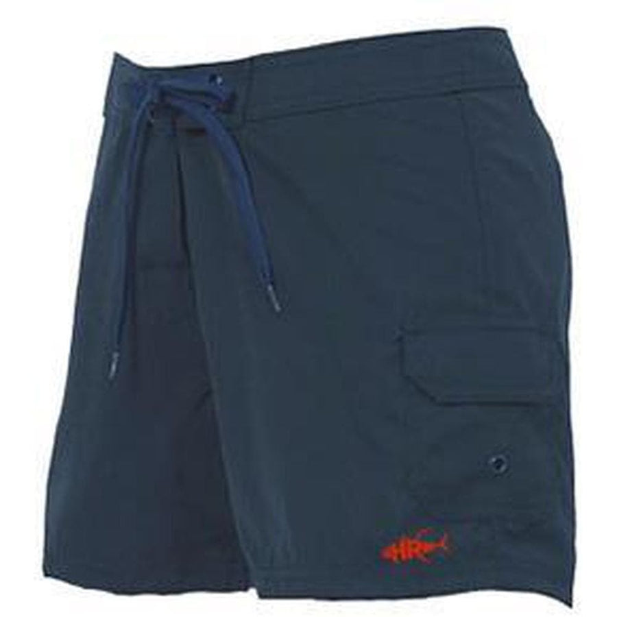 Navy Cargo Shoreline Shorts For Women - Apparel by Home Run