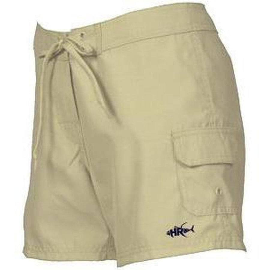 Khaki Cargo Shoreline Shorts For Women - Apparel by Home Run