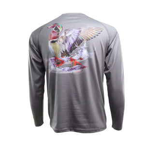 Wood Duck & Red Tails Performance Shirt