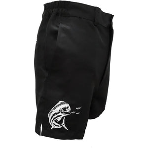 Black Ladies Gulf Beach Shorts - Apparel by Home Run