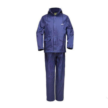 HOME RUN BLUE WATERPROOF RAIN SUIT