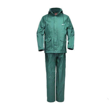 HOME RUN GREEN WATERPROOF RAIN SUIT