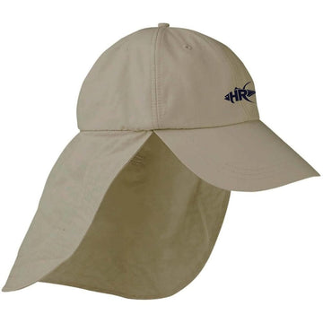 Khaki Sun and Sand Cape Hat - Apparel by Home Run
