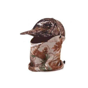 Home Run Camo Face Mask & Cap