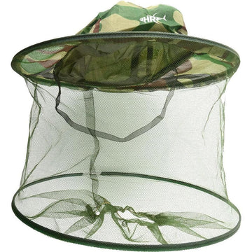 Green Mosquito Net Hat - Apparel by Home Run