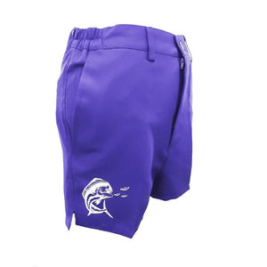 Purple Ladies Gulf Beach Shorts - Apparel by Home Run
