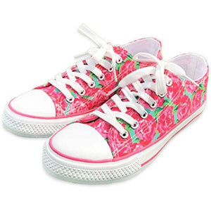 Rose Garden Canvas Shoes