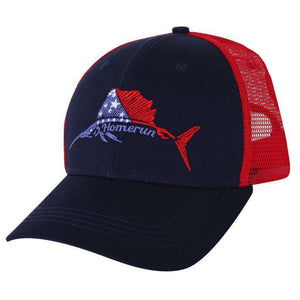 Star-Spangled Sailfish Trucker Hat