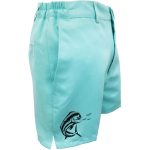 Teal Ladies Gulf Beach Shorts - Apparel by Home Run