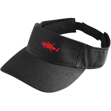 Black Reel it in Sun Visor - Apparel by Home Run
