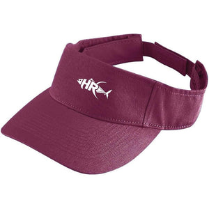 Maroon Reel it in Sun Visor - Apparel by Home Run