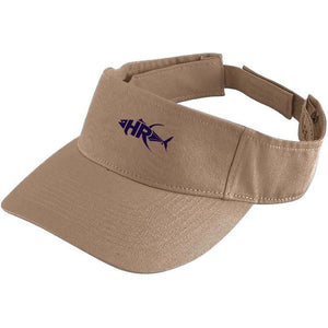 Khaki Reel it in Sun Visor - Apparel by Home Run