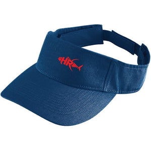 Navy Reel it in Sun Visor - Apparel by Home Run