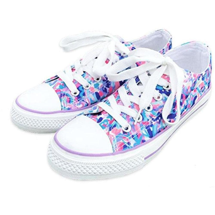WATERCOLOR CANVAS SHOES