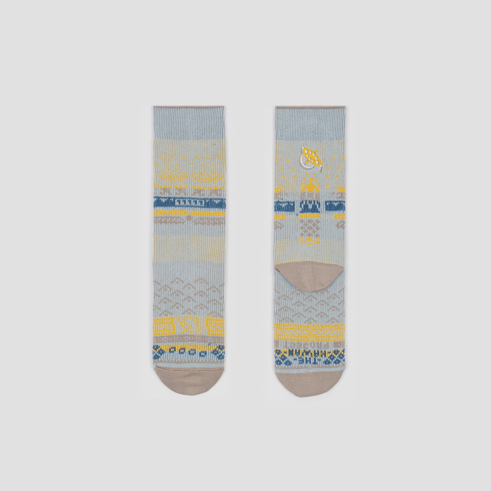 Greater 2gether - Light Grey Socks