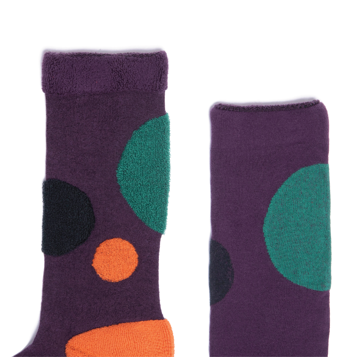 My Inner Beauty - Hati Purple Socks