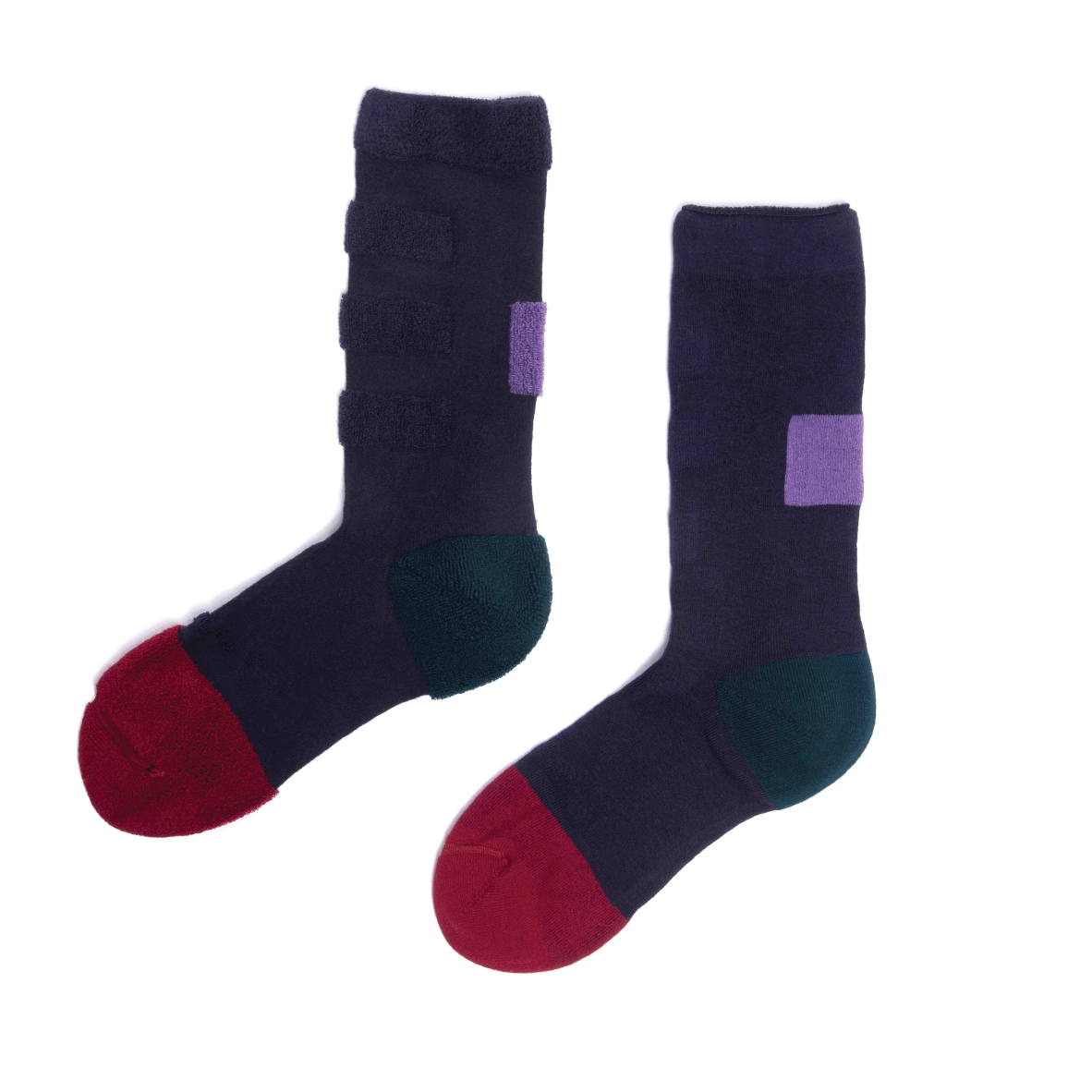 My Inner Beauty - Minda Dark Blue Socks