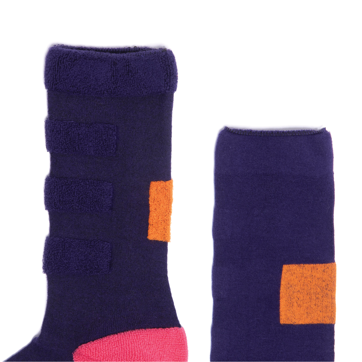 My Inner Beauty - Minda Purple Pennant Socks