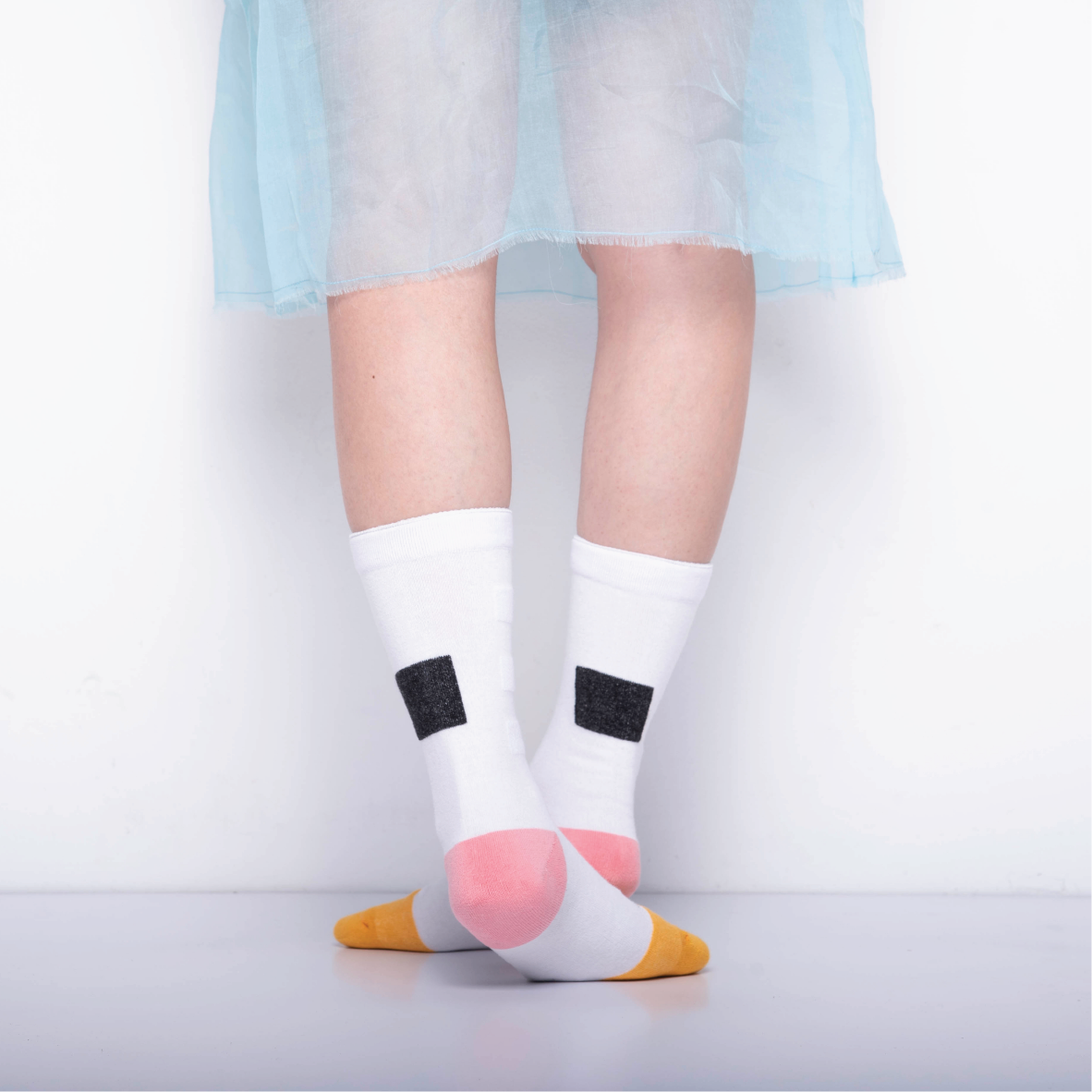 My Inner Beauty - Minda White Socks