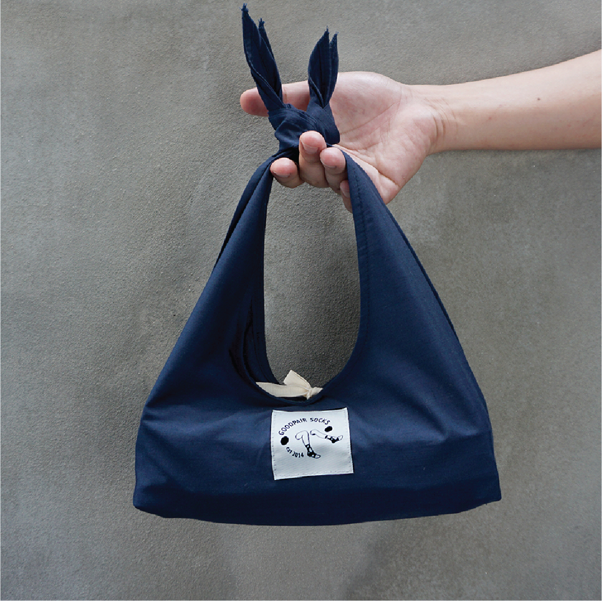 Furoshiki Tote: Gift wrap | Lunch bag | 2-way mini tote bag