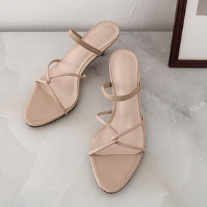Nude Sandals
