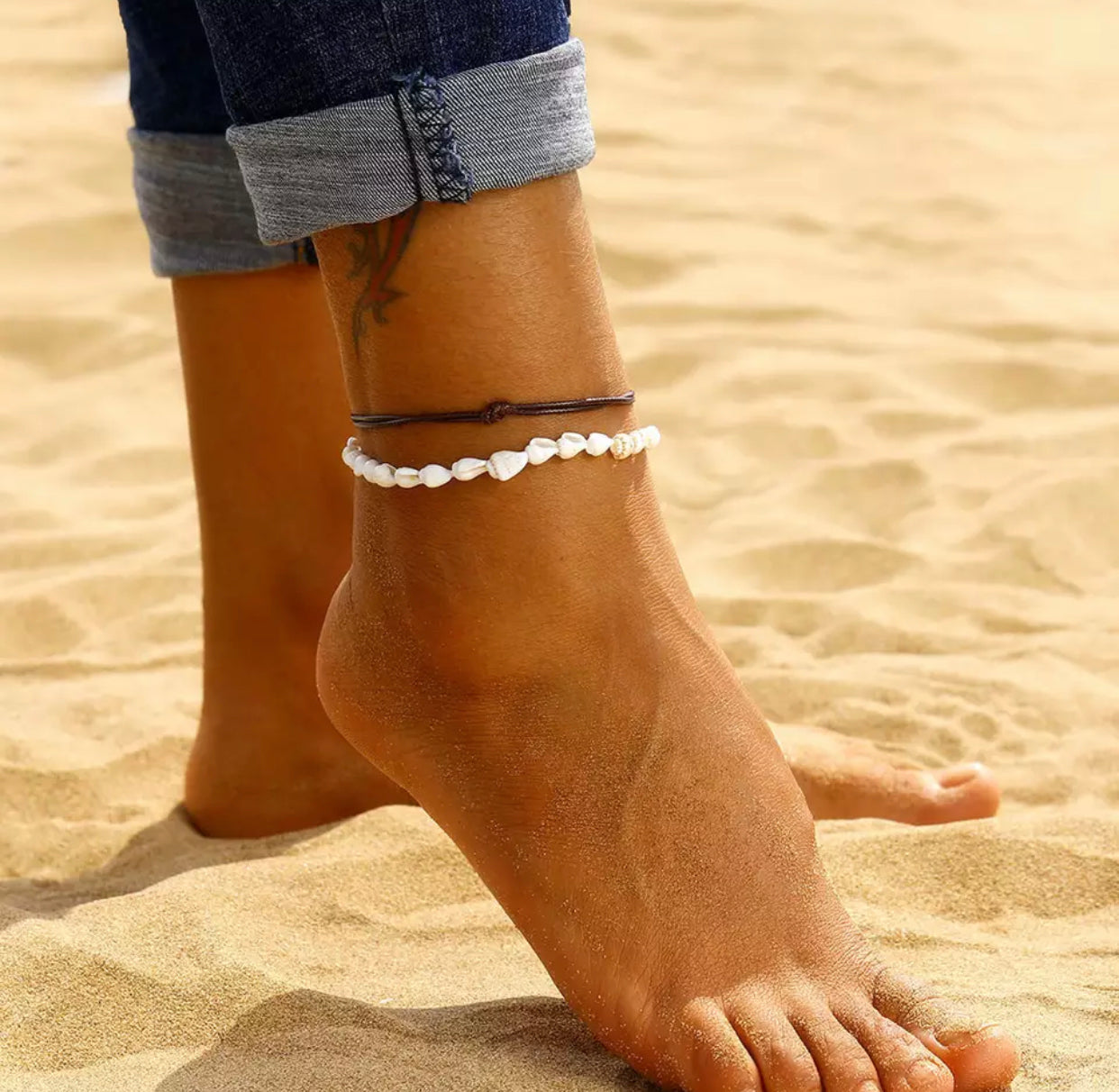 Mini Shell Anklet