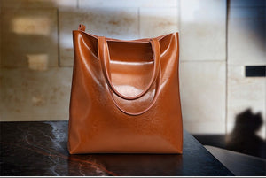 Soft Leather Shoulder Bag