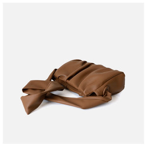Soft Square Leather Shoulder Bag