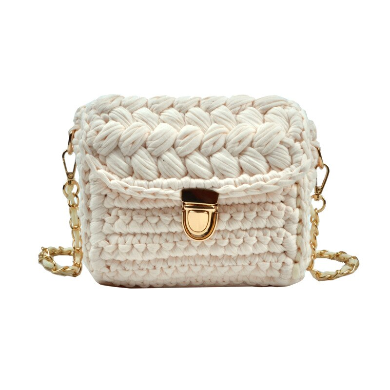 Mini Knitted Crossbody Bag
